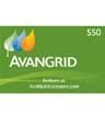 IB1-50EGIFTCARD - $50 Avangrid Electronic Gift Card
