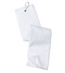 DTGA-W-TW50 - Grommeted Tri-Fold Golf Towel