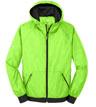 JST53 - Embossed Hooded Wind Jacket