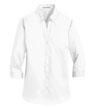 L665 - Ladies' 3/4-Sleeve SuperPro Twill Shirt