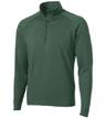IB1-ST850 - Men's Stretch 1/2-Zip Pullover