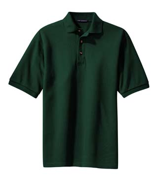 Tall Pique Knit Sport Shirt